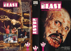 Anthropophagus The Beast DVD cover