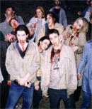 On the set of <b>Shaun of the Dead</b>