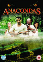 Anacondas DVD cover