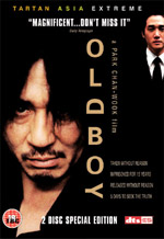 Old Boy DVD cover