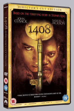 <b>1408</b> released on Region 2 DVD 26th December