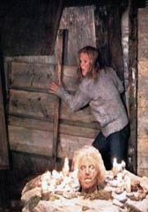 Amy Steel Vs Potato-Sack Jason, <b> Friday The 13th Part 2 </b>