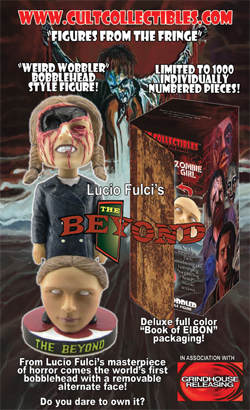Amazing <b>The Beyond</b> bobble head on sale this summer