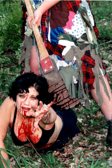 First pic and details on low-budget slasher <b>Blood Oath</b>