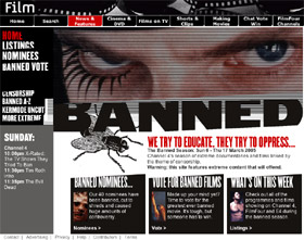 Channel 4's <b>Banned</b> series starts today