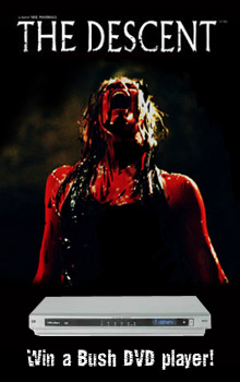 Win a DVD player in our new <b>The Descent</b> competition