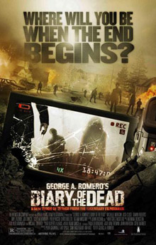 See the trailer and posters for George A. Romero's <b>Diary of the Dead</b>