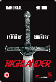 Winner of our <b>Highlander</b> replica sword competition