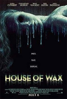 Poster for <b>House of Wax</b> remake