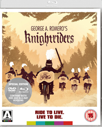 Romero's <b>Knightriders</b> finally released on DVD & Blu Ray