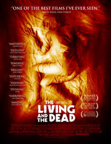 Eatmybrians quoted on the new trailer for <b>The Living and The Dead</b>