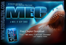 Jurassic Shark! New Line pick up <b>Meg</b>a project