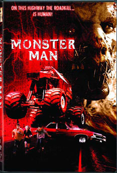 DVD artwork for <b>Monster Man</b>