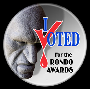 <b>Freak Out</b> gets nominated in the <b>Rondo Awards</b>