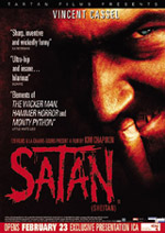 EMB quoted on the theatrical poster for <b>Satan (Sheitan)</b>