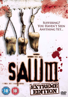 See <b>Saw III</b> on DVD on February 26th