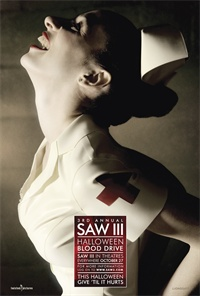 3rd Annual <b>Saw III</b> Halloween Blood Drive kicks off
