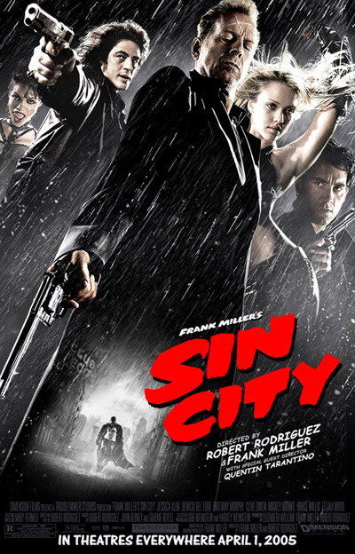 Final poster for <b>Sin City</b> looks great!