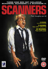 Details of Anchor Bay's 3-disc <b>Scanners</b> release