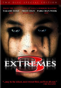 Details of <b>Three Extremes</b> and <b>Saw II</b> DVDs