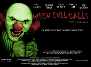 <b>When Evil Calls</b> comes to a mobile phone near you this Halloween.