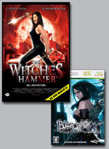 Win Witches Hammer on DVD and a Bullet Witch Xbox 360 game